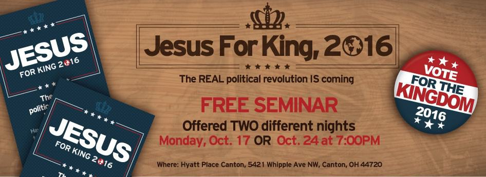 Jesus for King